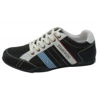 Buy cheap Casual shoes of men,Upper:PU, Outsole Rubber,Size:40-45 black color from wholesalers