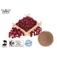 Buy cheap Pharmaceutical Schisandra Chinensis Extract Powder Botanical Medicine CAS No.7432 - 28 - 2 from wholesalers