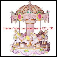 Buy cheap 6 seats music mini carousel horse,lovely carousel for sale from wholesalers