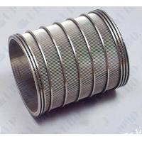 Buy cheap Anti - Blocking Welded Wedge Wire Screen Cylinder Filter Large Filtering Area from wholesalers