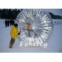 Buy cheap 2014 Popular Inflatable Zorb Ball , Glow Zorb Ball , Fluorescent Roller Ball TPU / PVC Material from wholesalers