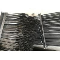 Buy cheap 600mm 1.86kg /meter star picket black coated and hot dipped galvanized from wholesalers
