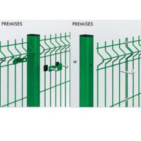 Buy cheap Customized Welded Mesh Security Fencing , Green Pvc Coated Welded Wire Mesh Fencing from wholesalers
