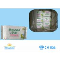 Buy cheap Water Based Adult Baby Wipes For Sensitive Skin / Disposable Wet Tissue Wipes from wholesalers