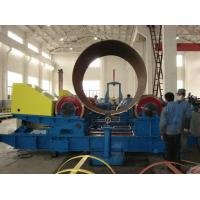 Buy cheap Heavy Duty Rotator Turning Rolls Steel / Polyurethane Wheel 150T bolt product