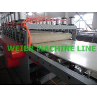 Buy cheap Special Plastic WPC PVC Foam Board Production Line , PLC Control System from wholesalers