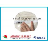 Buy cheap Restaurants Clean Hand Wipes / Natural Hand Wipes For Babies Spunlace from wholesalers
