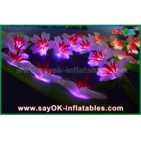 Buy cheap Durable Inflatable LED Light Flower Chain for Wedding Party Stage Decoration from wholesalers