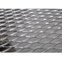 Buy cheap Prevent Clogging Drains Aluminum Expanded Metal Mesh For Roof Drainage Systems from wholesalers
