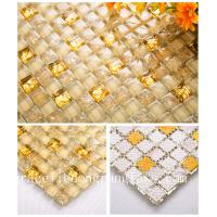 Buy cheap Sheet size: 300x300mm thickness:8mm glass crystal mosaic for home decorative from wholesalers