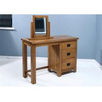 Buy cheap Small Mirrored Solid Wood Dressing Table Modern Style Color Optional For Fanily from wholesalers