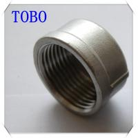 Buy cheap TOBO Butt Weld Fittings Caps BS , NPT , DIN Standards Malleable Iron Pipe Fitting Cap from wholesalers