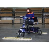 Buy cheap Industrial Tool Three Wheel Dust Cart Scooter Driving Type With 600mm / 900MM Mopping from wholesalers
