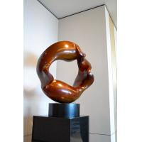 Buy cheap Hotel Decoration Indoor Metal Sculptures , Copper Contemporary Art Statues from wholesalers