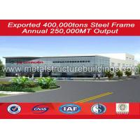 Buy cheap Construction Metal Storage Garage Building , Prefab Warehouse Anti Corrosion from wholesalers