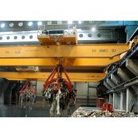 Buy cheap QZ Type 5T Electric indoor double girder Overhead Crane double girder grab overhead crane from wholesalers