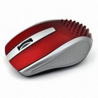 Buy cheap New-style Optical Mouse/Laptop Mouse with 10m Distance, Available in Various Colors from wholesalers