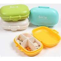 Buy cheap Hot sales colorful  plastic weekly pill box,pill case from Wholesalers