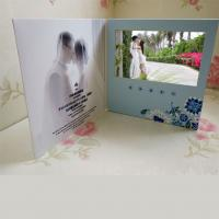 Buy cheap A4 A5 LCD Video Business cards , Full colors USB video message card from wholesalers