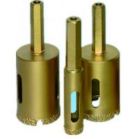 Buy cheap Hexagonal Handle Connection Small Diamond Drill Bits For Ceramic Tile / Natural Stone from wholesalers