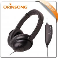 Buy cheap airline active noise reduction headphone from wholesalers