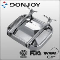 Buy cheap Matt Surface Wrench Type Square Tank Manhole Cover Oval Mayway For Vessel from wholesalers