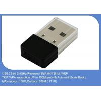 Buy cheap 150 Mbps DVB Accessories  Wireless Internet USB Adaptor Wifi Dongle MT7601 from wholesalers