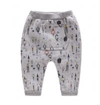 Buy cheap Spring Autumn Children Garments Brushed Fleece Harem Pants With Kangaroo Pocket from wholesalers