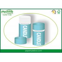 Buy cheap Recyclable Round Candle Packaging Boxes Paper Tube Packaging Can Durable from wholesalers