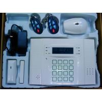 Buy cheap GSM home alarm with LCD text & diagram display house alarm systems 32 wireless 8 wired zones from wholesalers