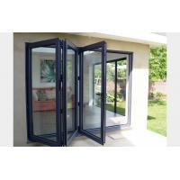 Buy cheap Commercial system double glass aluminum bi folding door from wholesalers