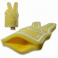 Buy cheap Cheering Sponge Foam Hands, Various Designs are Available product