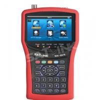 Buy cheap Original HD WS 6979 Satellite Finder DVB-S+ DVB-T Combo 4.3 Inch Display from wholesalers