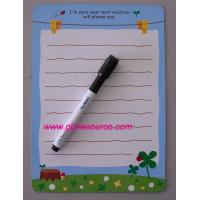 Buy cheap supply magnetic writing board, magnetic message board, magnetic white board from wholesalers