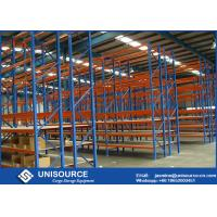 Buy cheap High Cold Rolled Q345 Longspan Shelving Units Industrial Metal Shelving For Shops from wholesalers