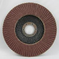 "Buy cheap 4""x5/8"" 60#grit aluminum oxide  flap disc from wholesalers"