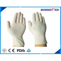 Buy cheap BM-6002 Medical Exam Latex Glove/Nature Latex Gloves with Powdered/ Powder Free from wholesalers