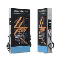 Buy cheap Floor Standing Waterproof Digital Gas Station Signage 49 Inch With Electric Car Charging Pile from wholesalers