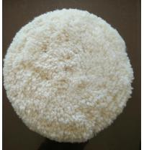 Buy cheap Australian lambskin wool bonnet/car wool polishing pad/wool buffing pad from wholesalers