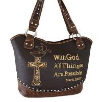 Buy cheap western rhinestone cross purse /handbags with bible verse from wholesalers