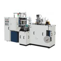 Buy cheap Ultrasonic Automatic Forming Machine , Double Sided PE Coated Paper Cup Making Machine from wholesalers