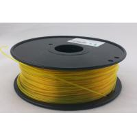 Buy cheap Yellow T-Glass 3.0mm 3D Printing Material Filament For Creation Field OEM Recognized product