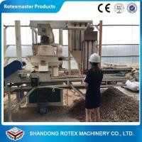 Buy cheap 90kw Vertical Ring Die Wood Sawdust Biomass Fuel Pellet Machine from wholesalers