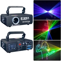 Buy cheap New Arrival 1000mw RGB Laser projector Club Party Bar DJ light Dance Disco party Stage Lights show system from wholesalers