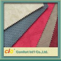 Buy cheap Furniture Faux Suede Fabric , cushion cover Polyester Suede Fabric from wholesalers
