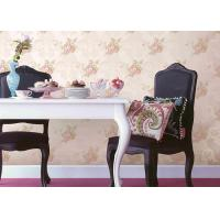 Buy cheap Eco - Friendly Embossed Flower Pattern Wallpaper Home Decoration Wall Covering from wholesalers