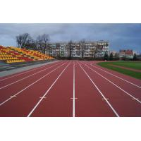 Buy cheap Outdoor 400 Meter Recycled Rubber FlooringTrack With 8 Years Lifespan from wholesalers