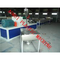 Buy cheap PP / PE / PVC Wood Plastic Extrusion Line moistureproof for Chair from wholesalers