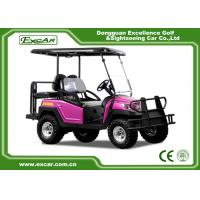 Buy cheap Rose Color Electric Fuel Type 4 Wheel Electric Golf Car Electric Vehicle 48 Voltage Aluminium Framework from wholesalers