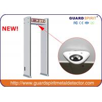 Buy cheap China high sensitivity walk through metal Detector, archway metal detector, door frame body scanner with CCTV Camera from Wholesalers